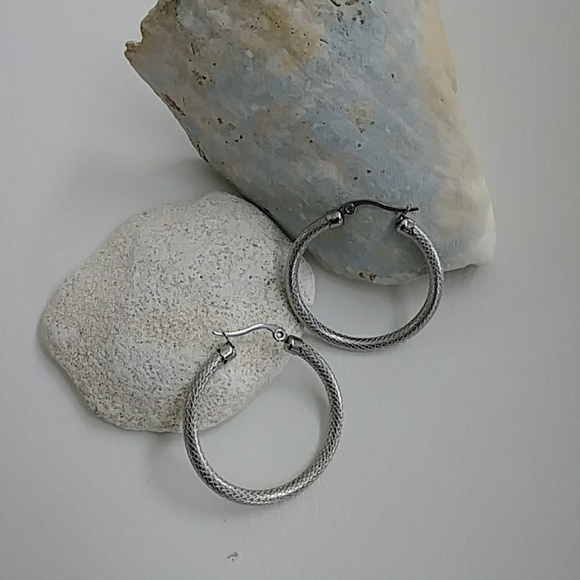 d5e6d68e9 P O S H Caravan Jewelry | Small Minimalist Stainless Steel Hoop ...